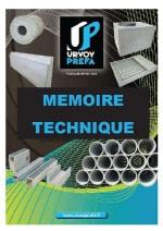 Memoire Technique BOVIDUC 12m Ferme de Saint-Mleux à Trebry