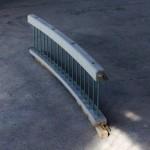 Garde corps courbe pont de toupin