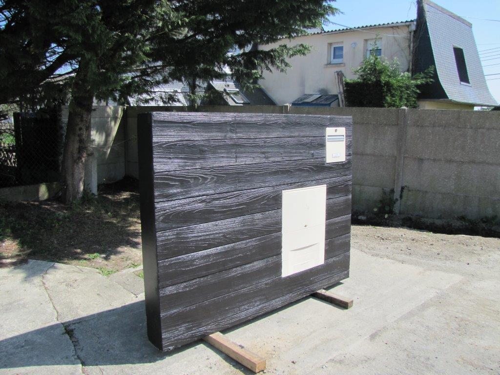 Prefa Amenagement Exterieur Jardiniere Beton Marche Beton Mur Beton