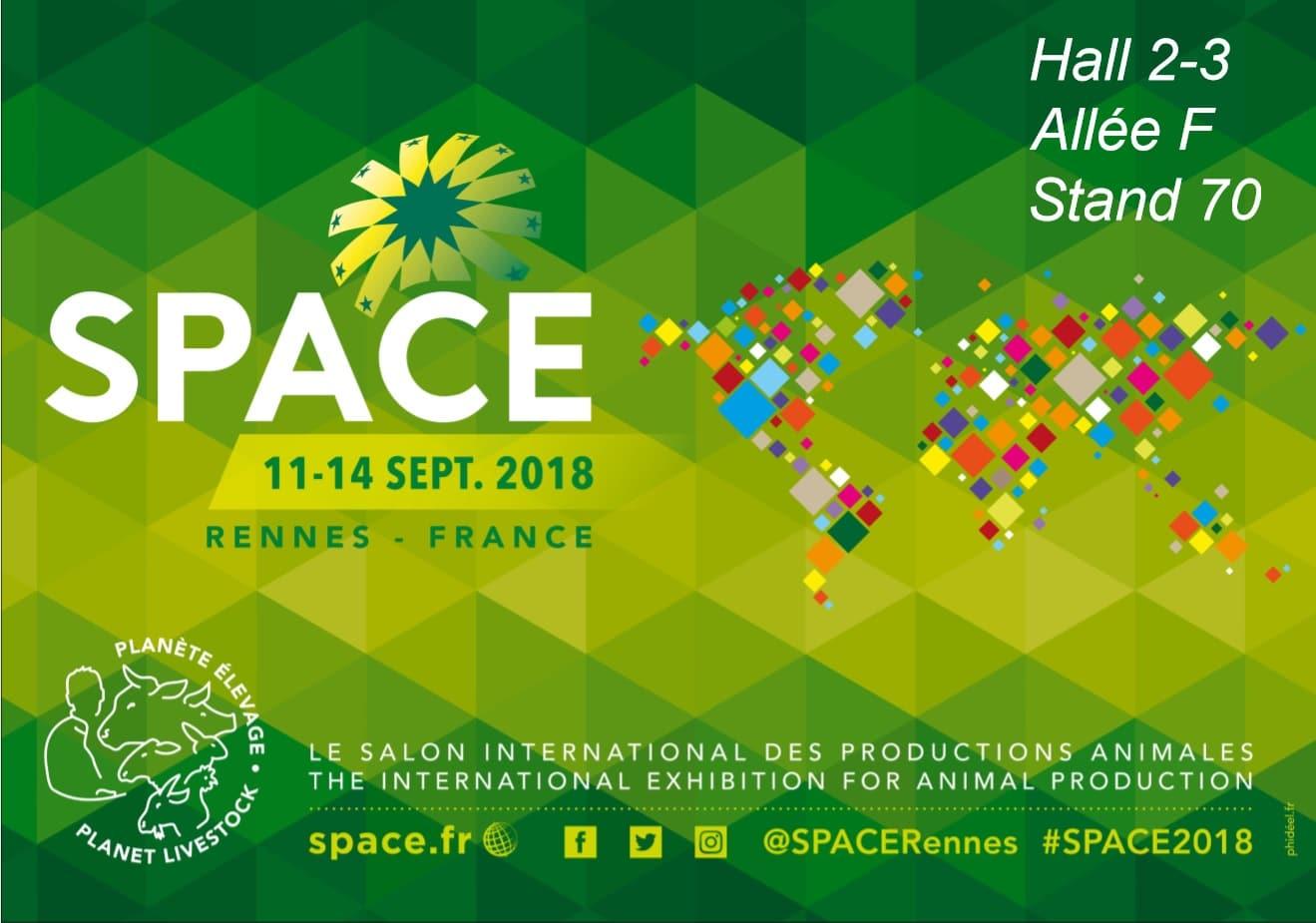 Urvoy Prefa est présent au Space 2018